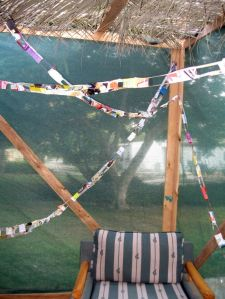 Have a seat in the Sukkah