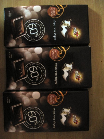 Elite 60% chocolate (x 3)