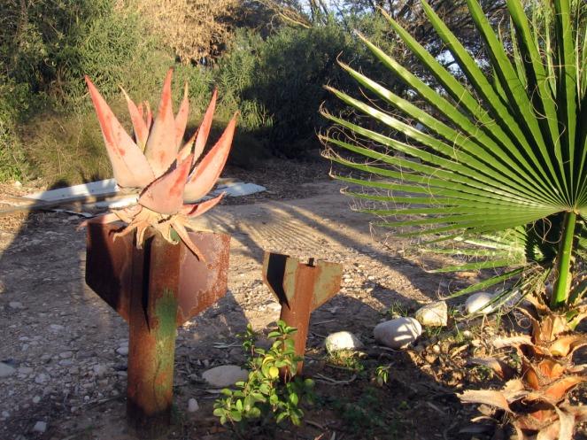 Amos' qassam garden, Nir-Oz