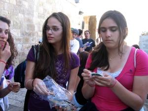 mika offers a handmade hamsa