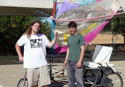 Amir Florentyn & Lotan Toiw & wind-bike