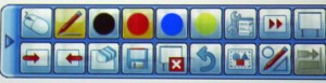 Menu Bar of SmartBoard